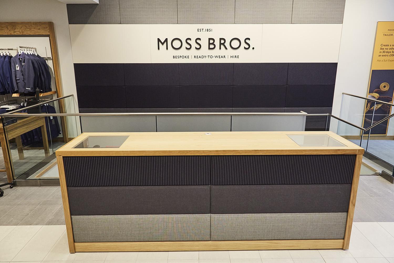 mezzanine floor moss bros manchester