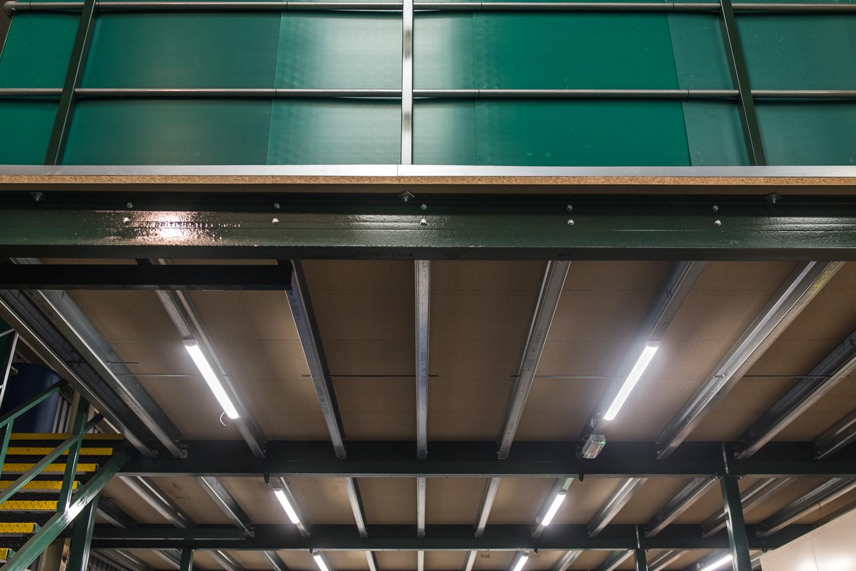 mezzanine floor underside